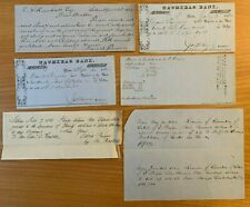 c1862 MERCHANT PRINCE OF SALEM MA David Pingree NAUMKEAG BANK Seven Islands Land