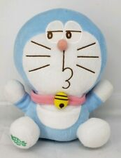 "10"" rare looking back and smirk face Doraemon Japanese Cartoon character plush"