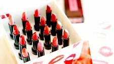 SHISEIDO NIB Rouge Rouge Set of 16 Red Lipstick Shades Collection Lip Cream Box