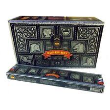 INCENSI SUPER HIT SATYA Bastoncini di incenso box 12 scatole x 15 gr
