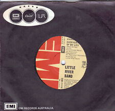 LITTLE RIVER BAND Everyday Of My Life / Days On The Road 45 LRB   SirH70
