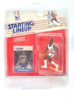 RARE NEW 1988 Kenner NBA Starting Lineup Michael Adams Denver Nuggets F