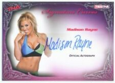"MADISON RAYNE ""AUTOGRAPH CARD"" TNA KNOCKOUTS"