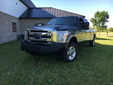 '11-'16 Ford F250 and F350 Super Duty Front Winch Bumper w/lts DIY Weld up Kit