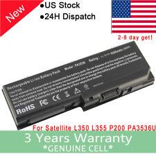 Battery for TOSHIBA Satellite PA3536U-1BRS 1BAS L350 L355 L355D P200 P205 P205D