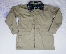 Vintage Woolrich Mens Field Coat Barn Jacket Parka  Sz Large Hooded 3 Pockets