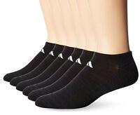 Agron Socks adidas Mens Superlite No Show (6 Pack)- Pick SZ/Color.