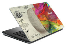 """Brain Laptop Skin Notebook Protector Art Cover Decal Fit's 14.1"""" x 15.6"""""""