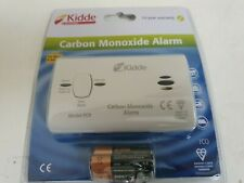 KIDDE CARBON MONOXIDE ALARM - WHITE FOR HOME OR HOLIDAY