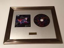 SIGNED/AUTOGRAPHED THE SCRIPT - NO SOUND WITHOUT SILENCE CD FRAMED PRESENTATION