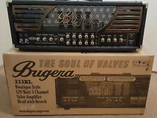 Bugera 333XL 120 Watt 3 Channel Valve Amp (original box & footswitch included)