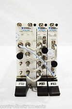 National Instruments NI PXIe-5673E 6.6 GHz Vector Sig Gener With RF Tasted