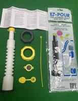 EZ POUR Gas Can Replacement Spout Nozzle Vent Kit Water Jug Or Gas Can Spout