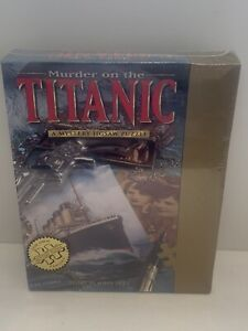 Murder on the Titanic - Bepuzzled 1000pc Puzzle - Brand New & Sealed