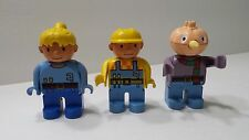 Bob the Builder Spud the Scarecrow Duplo Set of 3 Figures Building Blocks Lego