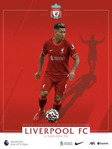 Liverpool v Chelsea - FA Premier League - 28 August 2021 - Official - Mint