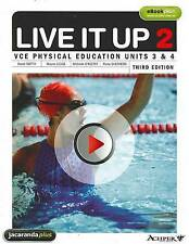 *NEW* Live it Up 2 - VCE Physical Education Units 3 &4 by Fiona Shepherd 3E
