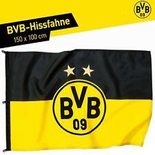 BVB Hissfahne Borussia Dortmund 2 Sterne 150 x 100 cm Flagge Fahne Logo BVB 09