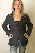veste en drap de laine grise MARITHÉ FRANCOIS GIRBAUD T 40 NEUF ETIQUETTE V 430€