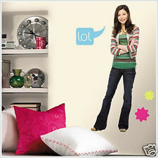 iCarly wall stickers MURAL size i Carly 54 inches tall decal room decor