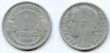 1 Franc MORLON  Aluminium 1945 BEAUMONT TTB