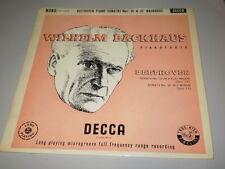 WILHELM BACKHAUS - Beethoven piano sonatas 31&32 - MONO DECCA LXT 2939 - LP -