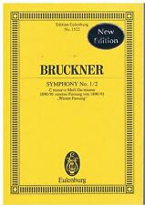 Anton BRUCKNER, Symphony No.1/2, C Minor 1890/91 version, pub Eulenburg No.1522