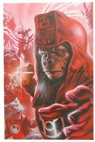 Planet of the Apes Green Lantern 3 Massafera Variant Cover Red Lanterns DC Boom