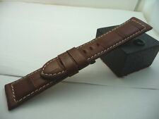 PANERAI RARE NOS ALLIGATOR BROWN STRAP ORIGINAL
