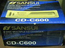 Sansui Cd-C600 6 Disc multiple Cd changer