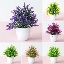 Artificial Flowers Plant Pot For Outdoor Weddings /Home /Office Decoration Gift