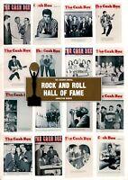 ARETHA FRANKLIN / EDDIE COCHRAN 1987 ROCK & ROLL HALL OFFAME PROGRAM / NM 2 MNT