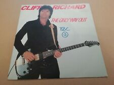 """CLIFF RICHARD * THE ONLY WAY OUT * 7"""" SINGLE EXCELLENT P/S EMI 5318"""