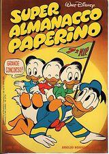 fumetto SUPER ALMANACCO PAPERINO WALT DISNEY ANNO 1978 NUMERO 5