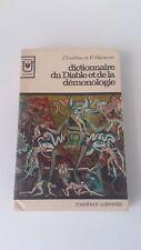 Tondriau & Villeneuve - Dictionnaire du Diable et de la démonologie - Marabout