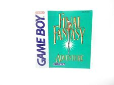 Final Fantasy Adventure Nintendo Gameboy Instruction Manual Booklet Book VG!