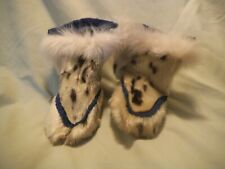 Baby Moccasin Boots Seal Skin ? Handmade Shoes
