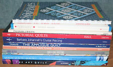 Quilting Book Lot of 11 Softcover Art History Design Enthusiasts Patchwork