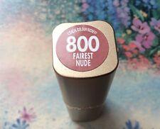 New Loreal Colour Riche Lipstick #800 Fairest Nude Full Size Lipstick