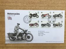 2005 Royal Mail FDC - Motorcycles - Tallents House