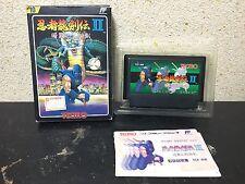 Ninja Gaiden 2 Famicom Japan NTSC-J Tecmo boxed set Ninja Ryukenden II