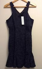 NWT $345 Jay Godfrey Size 8 Dress Gray Black Leopard Designer Nordstrom