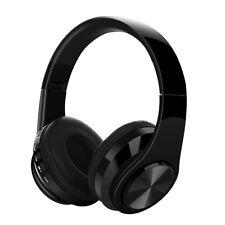Pliable sans Fil Bluetooth Stéréo Casque Tf aux Fm Super Bass Écouteur