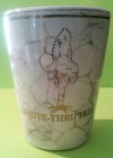 DRIVE - THRU - TREE CALIFORNIA HARD TO FIND SHOT GLASS GREAT FOR ANY COLLECTION!