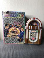 Vintage Leadworks Wurlitzer Fifties Micro Cassette Jukebox Japan Untested