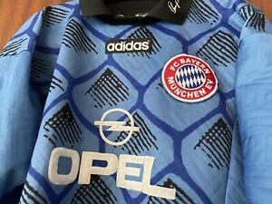 Bayern München Oliver Kahn Adidas Trikot 1996/1997 Gr. M