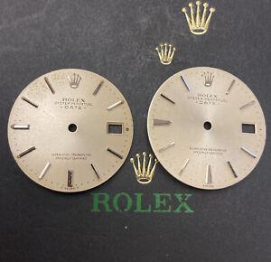 Rolex Date Men's 34mm Silver Dial Silver Stick Oyster Jubilee Model 1500 15000