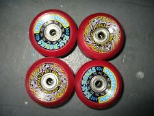Skateboard Vintage Powell Peralta Rat Bones RED 60mm x 90a NOS