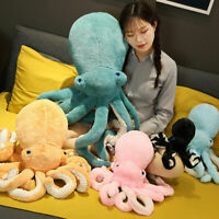 Cute Octopus Stuffed Soft Plush Doll Pillow Lovely Animal Toy Gift For Kids