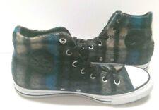 Womens Size 8 Sneakers Hi Tops CONVERSE 149455C PLAID WOOLRICH EUR 39